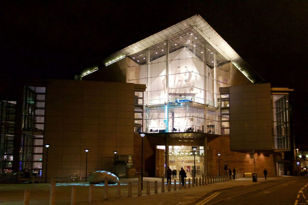 Bridgewater Hall Evening