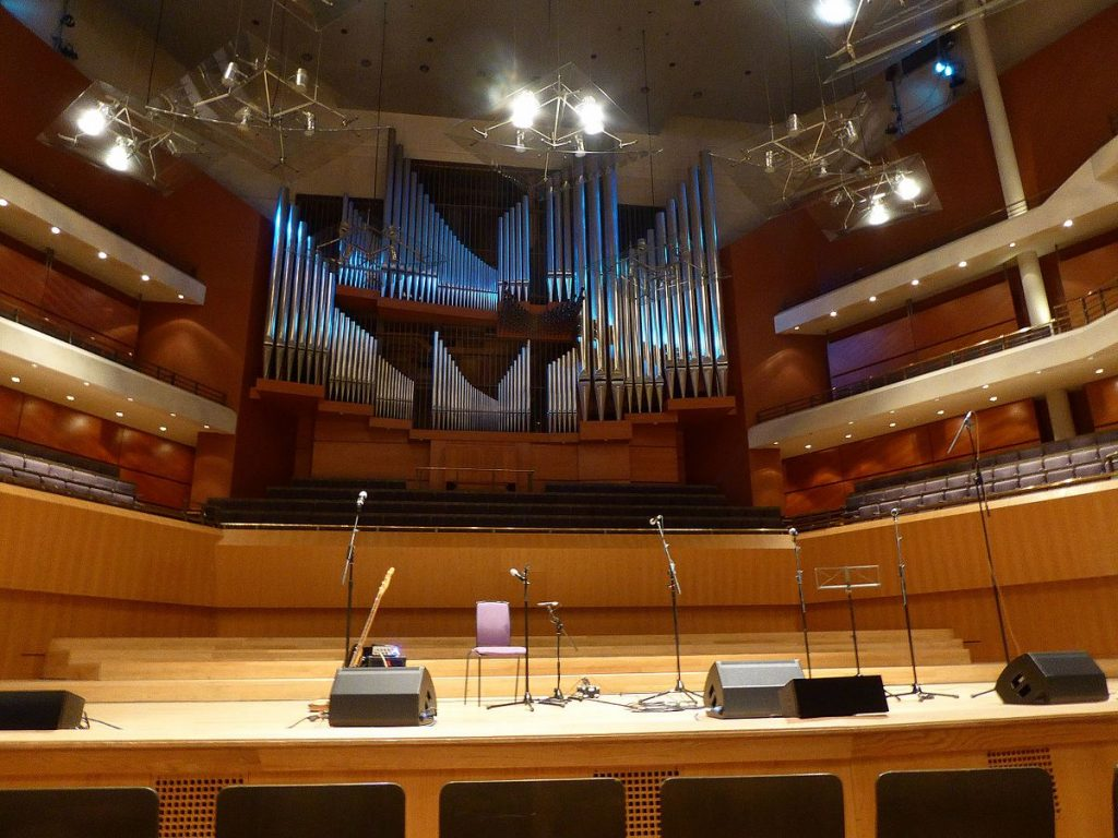 Inside Bridgewater Hall